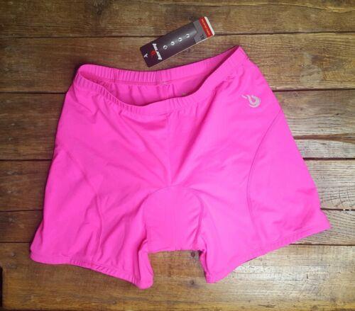NWT Beroy Women's Cycling Shorts Size XL  Padded Pink Biking