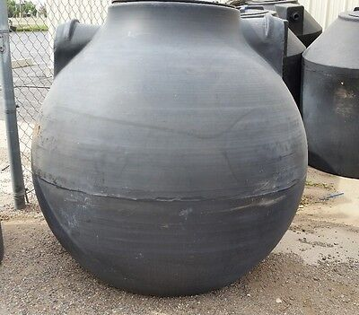 500 Gallon below ground Septic pump tank sphere, Norwesco