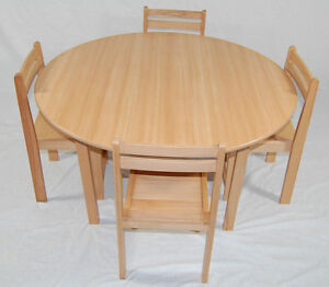 Kids wooden table and chairs classroom chairs classroom tables school