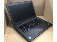 Lenovo ThinkPad T460 laptop 500gb SSD 24gb ram memory (similar to t470, t480, t490, x1 carbon)