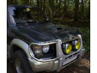 Mitsibushi Pajero 2.8 Turbo Diesel ... (Project needs work)