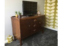 Classic retro Sideboard restored furniture ideal living dining room house flat