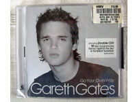 NEW & in sealed cellophane packaging GO YOUR OWN WAY Gareth Gates double CD. Can post. £2.