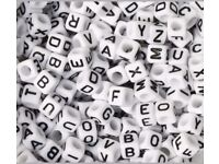 1000 alphabet letters beads