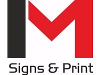 Signs graphics, Signage, Vehicle graphics and signs, Banners, Labels, designed Bottles
