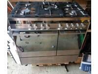 Range cooker 900mm Dual Fuel
