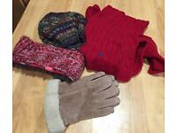 Hat/scarf/gloves
