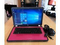 "Pink HP Pavilion G6 - Intel Core i3, 6GB, 500GB, HD Graphics, 15.6"" Laptop"