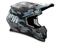 New 2018 Thor S 55-56cm Sector Covert Midnight Helmet Motocross Blue Camo