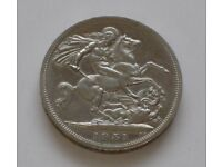 Five Shillings Coin 1951- George VI