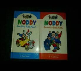 2 x noddy books. As new