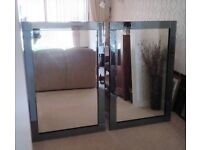 Two Large Good Quality Wall Mirrors