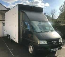 WANTED TWIN REAR AXLE VAN/ MINIBUS FIAT DUCTO CITROEN RELAY OR PEUGEOT BOXER