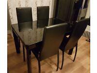 Harveys extending dining table