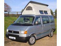 VW T4 Camper - Bilbos Celeste Campervan
