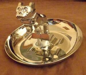 Vintage Mack Truck Bulldog Ashtray