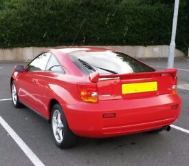 2001 TOYOTA CELICA 1.8 VVTi 140 BHP 1ZZ-FE MANUAL IN RED BREAKING FOR PARTS & SPARES