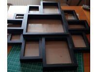 FREE Black Multi Photo Frame
