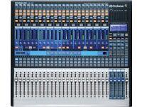 Presonus Studiolive 24.4.2 Mixer / Interface (with flightcase)