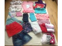 Bundle of Girls Clothes Age 5-6 Years For Sale