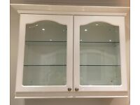 Display, Eye Level and Base Kitchen Units in white gloss