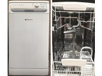 Hotpoint Smart Tech. Slimline Dishwasher. Perfect working order, very clean.
