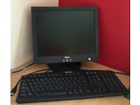 Dell 15 inch screen and keyboard ....in perfect condition