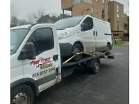 FAST TRACK RECOVERY 24/7 CAR BREAKDOWN VEHICLE TOW TRUCK TOWING JUMP START SERVICE IN EAST LONDON