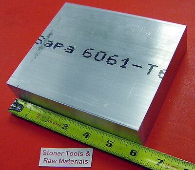 1-14 X 6 Aluminum 6061 Flat Bar 6 Long Solid T6511 Extruded Plate Mill Stock