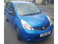 2010 Nissan Note Visia, Petrol, 24000 miles, FSH, 1 owner from new.