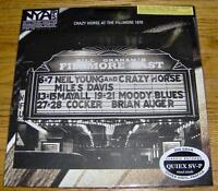 NEIL YOUNG ~ ARCHIVES PERFORMANCE SERIES VINYL RECORDS
