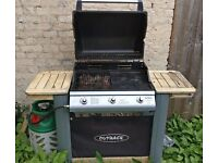 Outback Gas BBQ with cover
