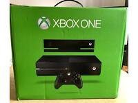 Xbox One 500gb boxed with Kinect sensor, all cables and wireless pad