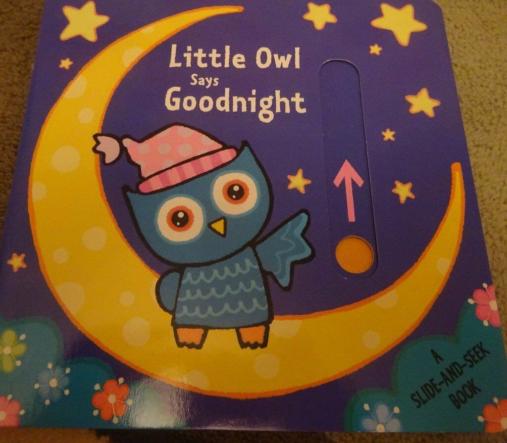 New Little Owl Says Goodnight children kids story book bedtime only £1 ideal xmas gift
