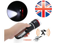 LED Multifunctional Flashlight Security emergency Tool UK Delivery