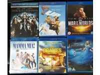 Bluray movies collection £10