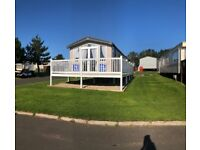 Luxury 3 bedroom holiday home, wrap around decking ready to move in on stunning Berwick Holiday Park