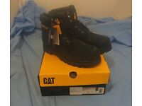Mens boots - CAT 'Colorado' UK size 10, boxed new and unused