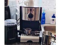EspressoWorks, just few months old coffee machine