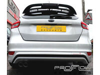 Ford Focus fitted with a Proflow Exhausts Middle and Rear Stainless Steel Exhaust System