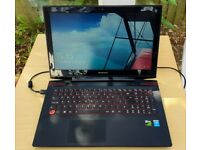 Lenovo Y50-70 Laptop - Intel Core i7 Quad-Core 2.5 GHz GeForce GTX 860M 256 GB SSD