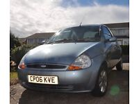 Ford KA, 2006, good runner with low mileage, eight months MOT. 07392 825905