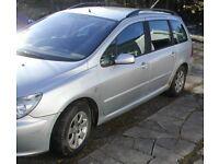 Peugeot 307 Estate for sale