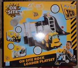 New 'My 1st JCB on site Rock Loader' playset - Boxed - Perfect Christmas Present