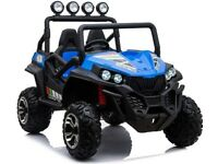 KIDS RIDE ON CAR BLUE BEACH BUGGY BRAND NEW WITH RECEIPT
