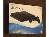 SONY PS4 PLAYSTATION 4 SLIM SLIMLINE 500GB JET BLACK