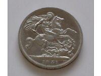Five Shillings Coin 1951- George VI