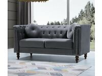 ☀️☀️LATEST DESIGN☀️☀️ Plush Velvet Florence Sofa- 3+2 Seater Set-In Grey Colors Only-Call Now