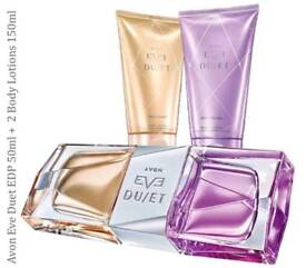 Eve Duet Perfume and Body Lotions