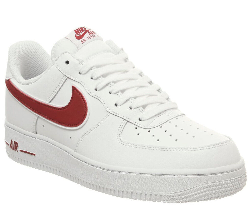 promo code more photos reliable quality Nike Air force 1 White with red tick Brand new size 8 70 pound | in  Westminster, London | Gumtree